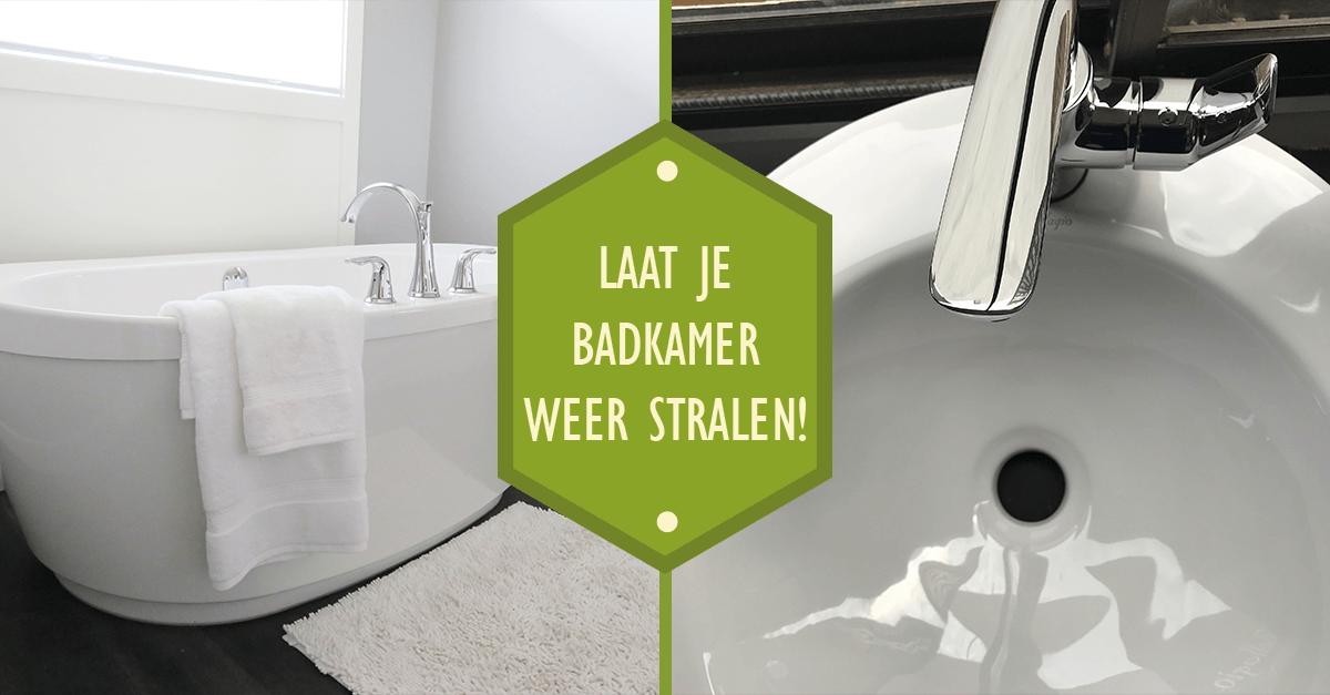 Laat je badkamer weer stralen! - Blog - Huiscleaning